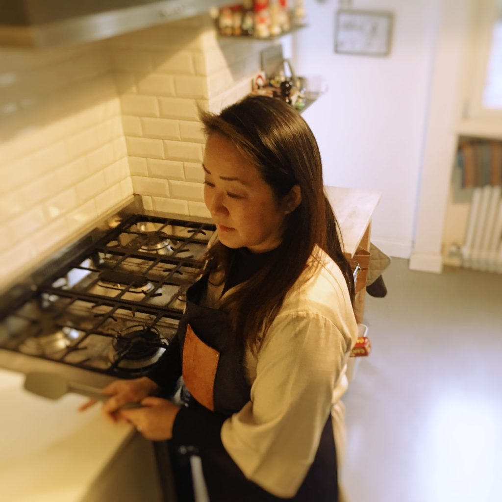 Cooking rieko